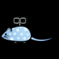 floor-mouse-bbluedot_tr