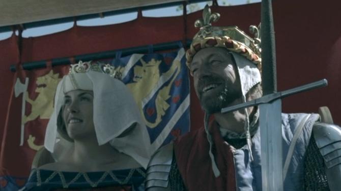 Dronningen og kongen