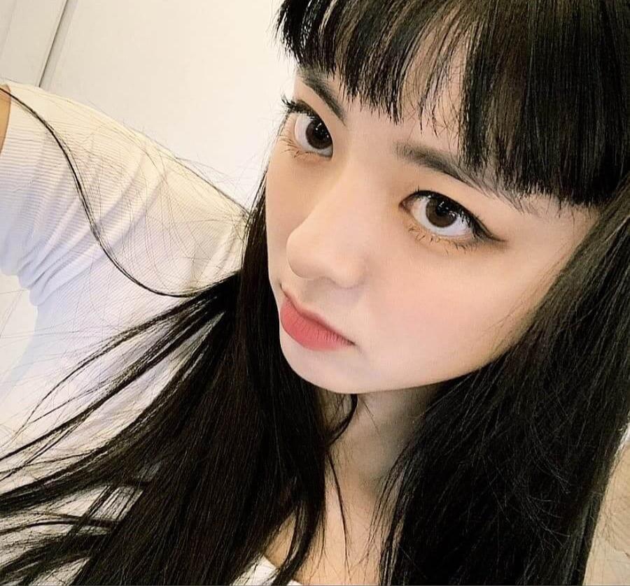 韓国 前髪