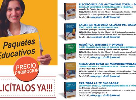 PAQUETES EDUCATIVOS