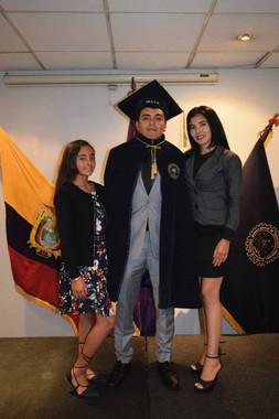 Graduado 2019 y su Familia