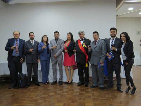 Ceremonia Bolivariana de  América