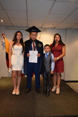 Familia de Graduado
