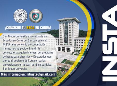 Grandes Noticias! estudia en Corea del Sur