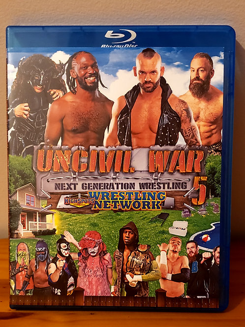 Uncivil War 5 Blu Ray