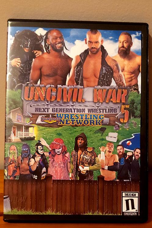 Uncivil War 5 DVD