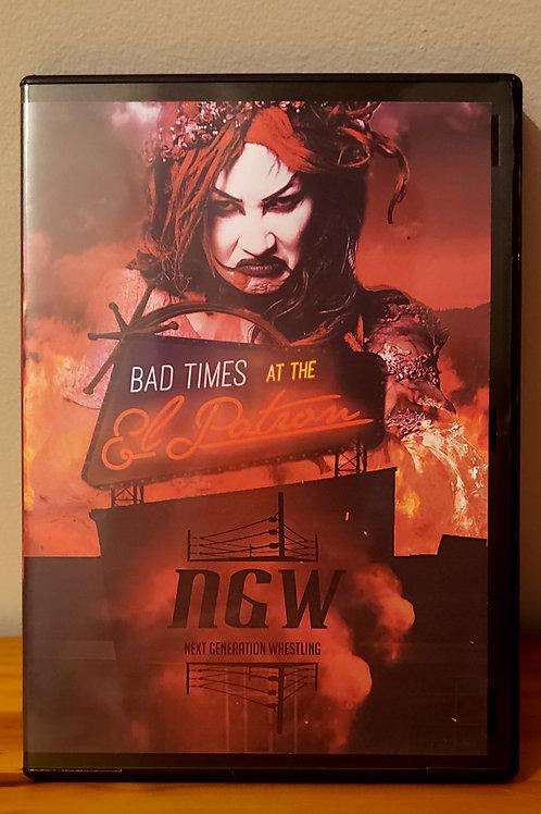 Bad Times At The El Patron DVD