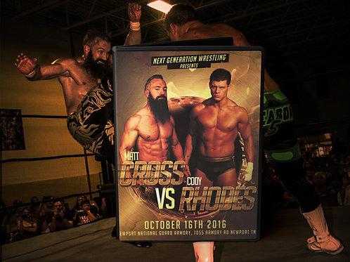 Cross Rhodes DVD (Pre Order)