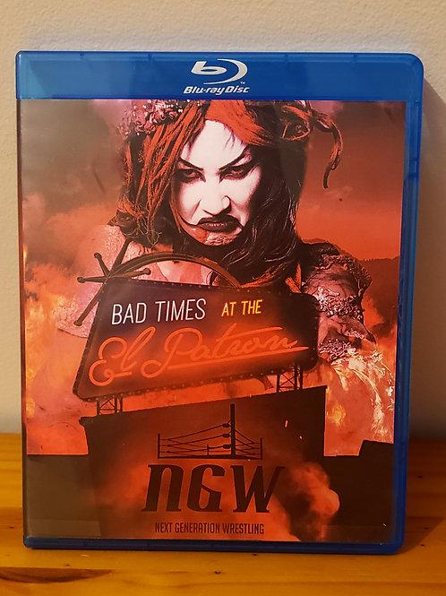 Bad Times At The El Patron Blu Ray