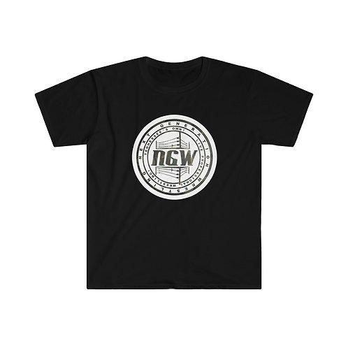 Badge Of Honor (Camo) Unisex Softstyle T-Shirt