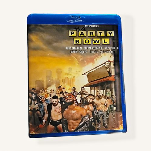 Party Bowl Blu Ray