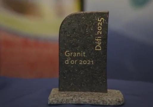 Félicitations aux Lauréats du Granit d'or 2021