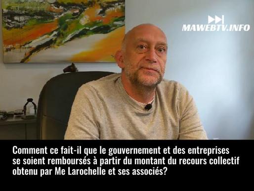 La réponse de Me Daniel Larochelle