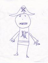 Pirate original drawing