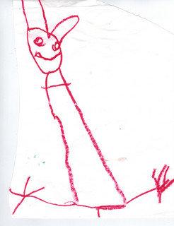 Mimsy Bunny original drawing