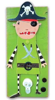 Lolly Pirate green