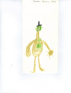 Franken-Monster original drawing
