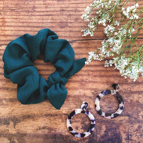 Evergreen Scrunchie