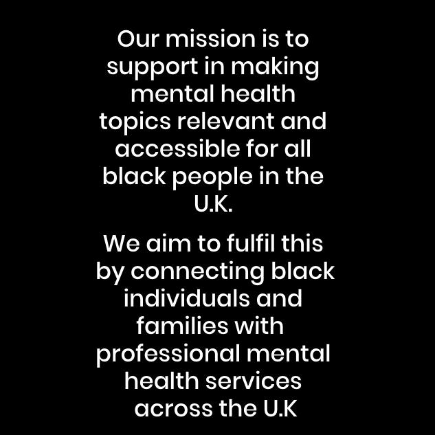 Black Minds Matter Mission