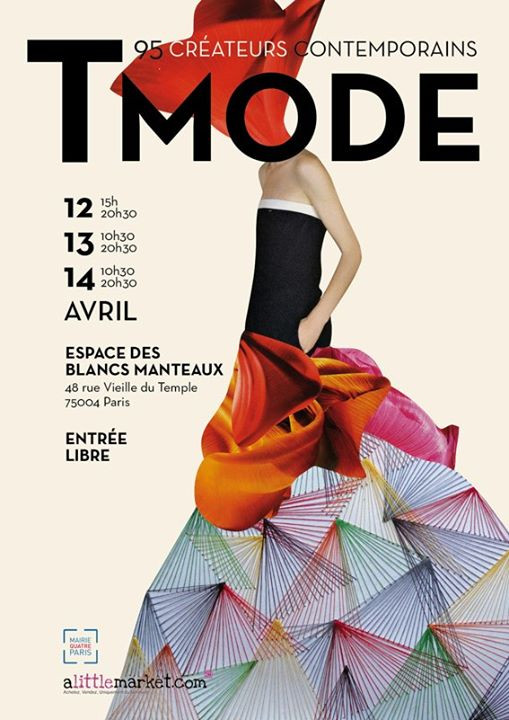 12, 13 et 14 avril 2013 : Salon Tmode