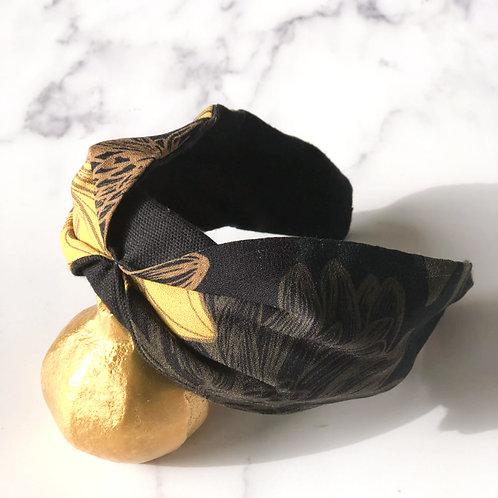 Mustard Flower Headband