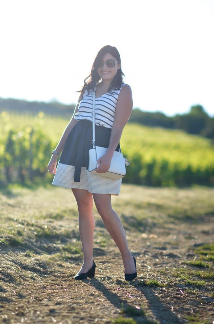 Julie Ramos présente la jupe Zoé !