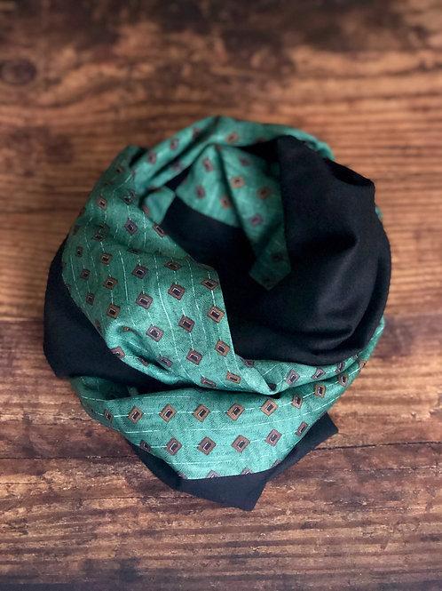 Claude vintage silk Snood