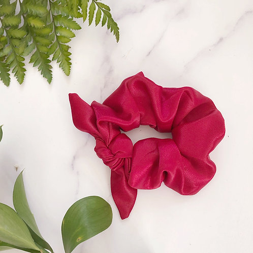 Fuschia Pink Ashley Scrunchie