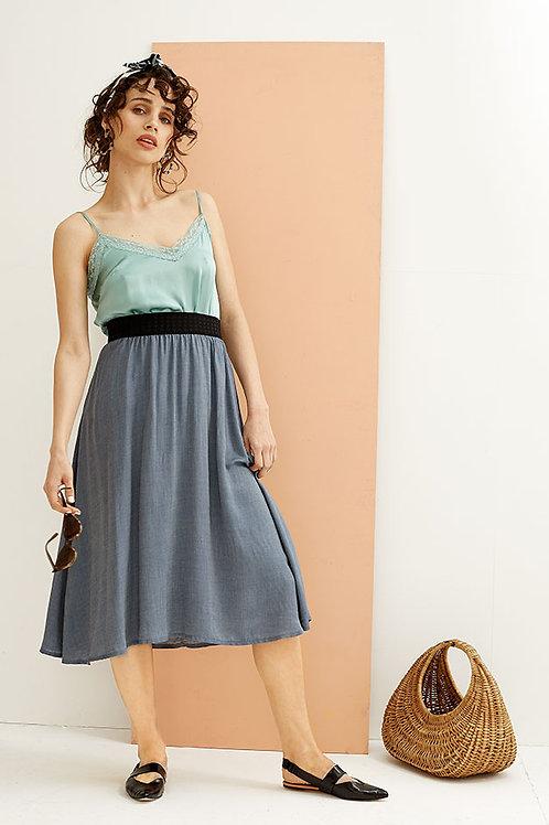 Bluebell Flared Midi Skirt