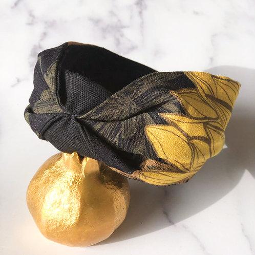 Serre-tête Flower Mustard