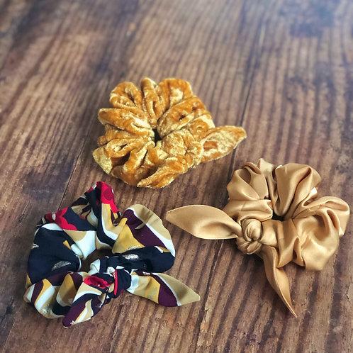 Orla Scrunchie Set of 3