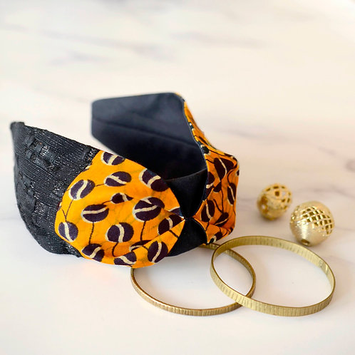 Amber Gold & Wax Headband