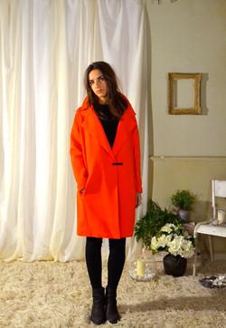 Printemps 2015 orange coat