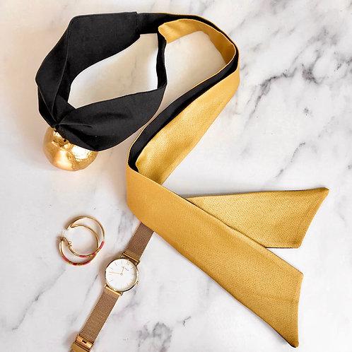 Mustard Knot-tie Headband