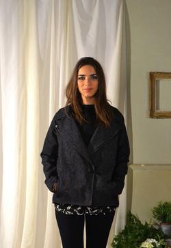 Printemps 2015 Black Wool Coat