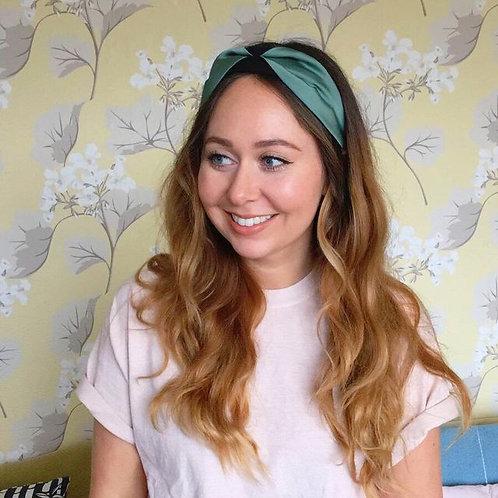 Green Emma Headband