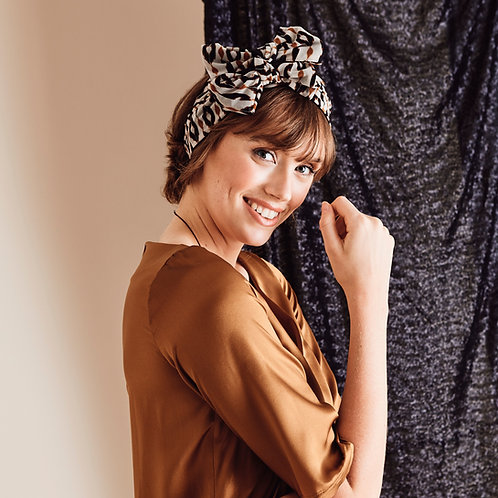 Serre-tête foulard Hazel