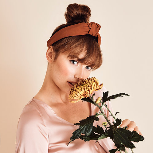 Headband Autumn Ochre