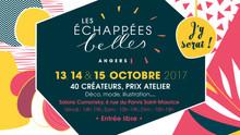 Rendez-vous du 13 au 15 octobre aux Echappées Belles à Angers
