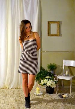 Printemps stripe dress