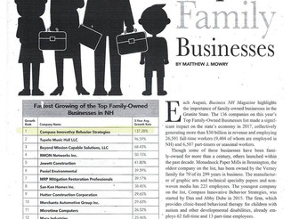 Compass Recognized as #1 Fastest Growing Family-Owned Business in NH!