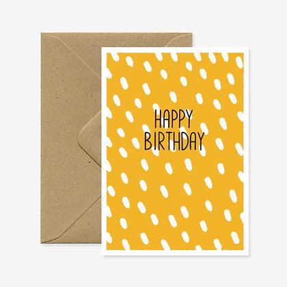 Happy Birthday Yellow