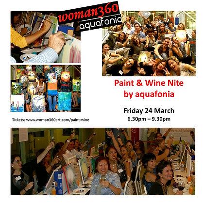 Paint & Wine by aquafonia - Pendiente fecha