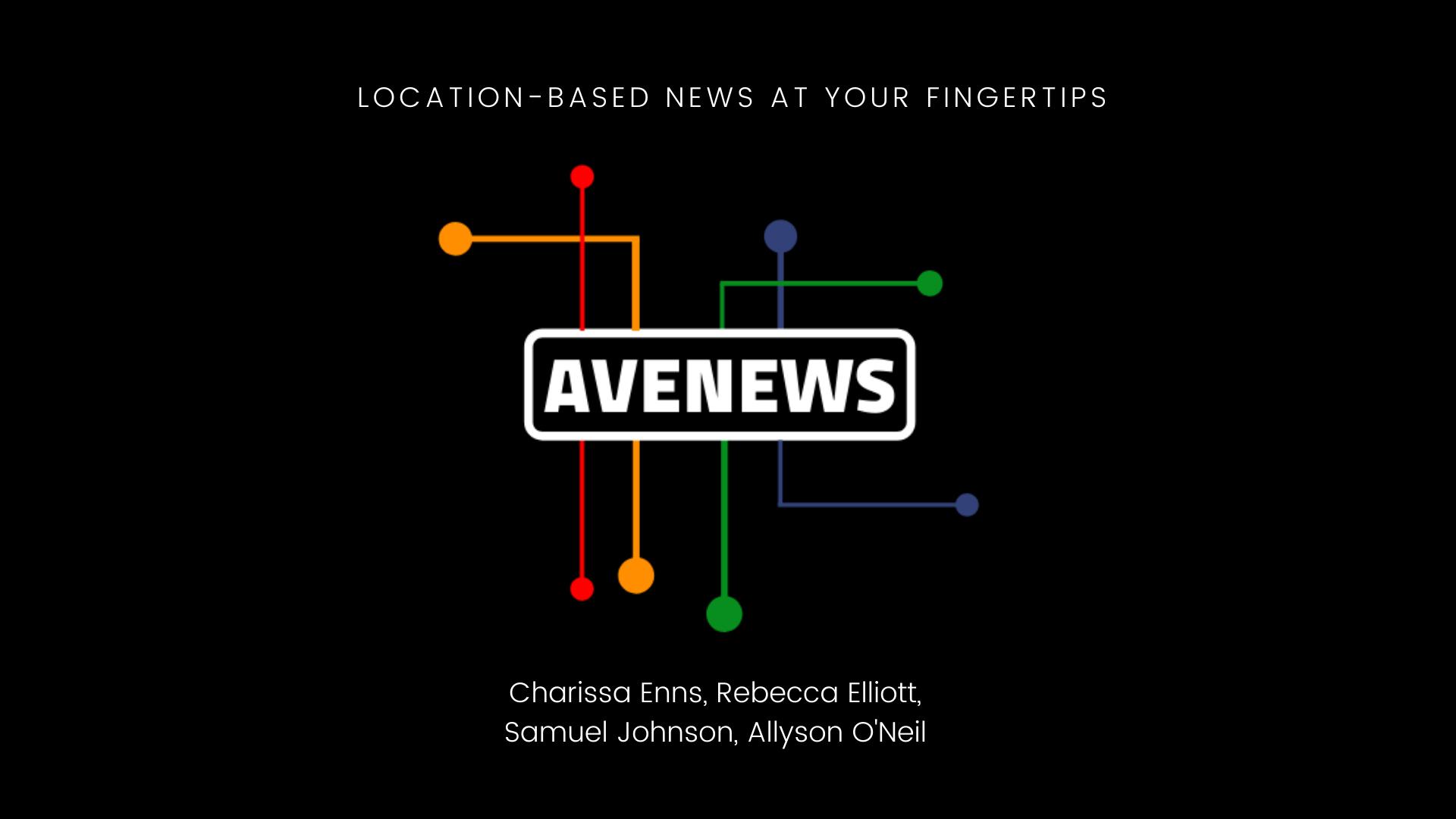 Avenews Pitch Deck