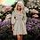 Thumbnail: Lantern Sleeve Mini Shirt Dress