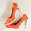 Thumbnail: Metal Carved Elegant High Heels
