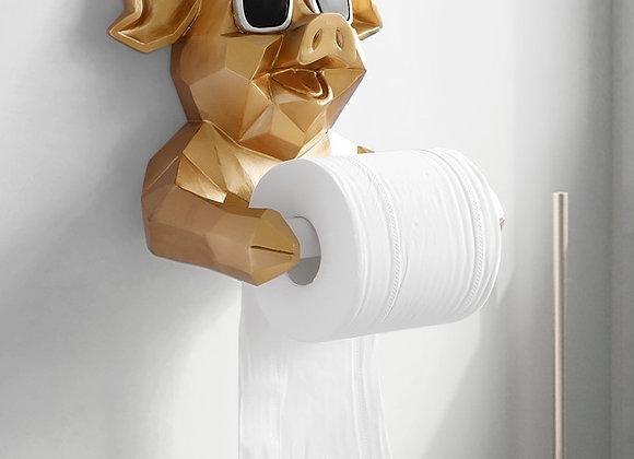 Decorative Animal  Figurine Tissue Holder