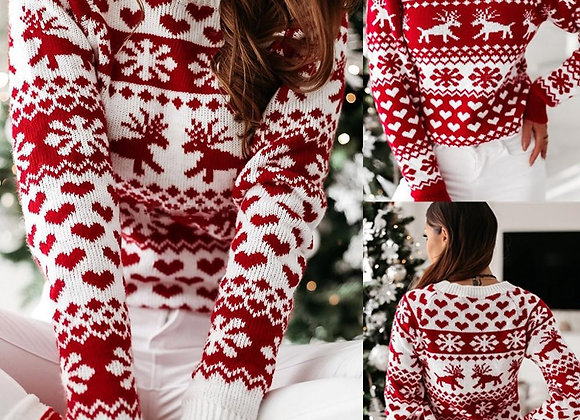 Hearts of Christmas Sweater