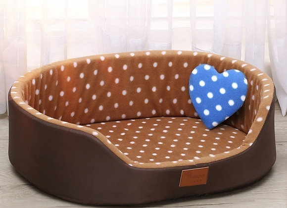 Polka Dot Sofa Bed For Dogs/Cats