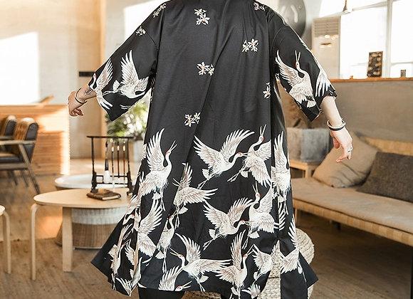 Mens Printed Kimono